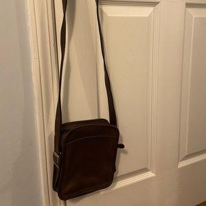 Vintage Coach Camera Zip Bag
